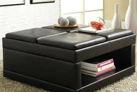 Cocktail Storage Ottoman Marvelous Oversized Cocktail Ottoman Terrific Leather Storage
