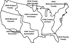 map us expansion westward expansion timeline for