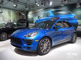 porsche macan 2016 blue introducing the new porsche macan ebay motors blog