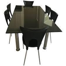 expanding dining table viyet designer furniture tables cantoni black marble