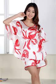 womens silk pajamas satin pajamas sets sleepwear big plus