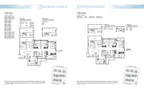 Riverbank Fernvale Floor Plan Bellewaters U2013 Sengkang Paulng Property