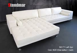 sofa with wide chaise white leather sectional sofa with chaise stylish new modern euro