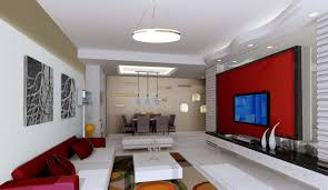 best living rooms with red wall living room 15 image 10 of 15
