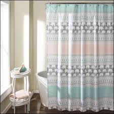 Fancy Shower Curtains Bathroom Awesome Colorful Plastic Shower Curtains Standard Size