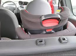siege auto sans ceinture réception et installation du siège auto stage joie les