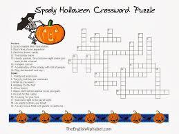 printable easy crossword puzzles with solutions halloween crossword puzzle printable 5 new halloween crossword