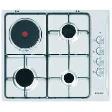 glem piani cottura glem gas piano cottura gtl647ix 3 fuochi a gas e 1 zona cottura