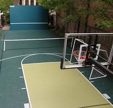 Sports Courts For Backyards Sport Court Midwest Sport Court Midwest Sport Court Specialists