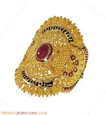 bridal gold rings gold jewelry 22kt gold jewelry kadas 2 pcs baka4115 22kt