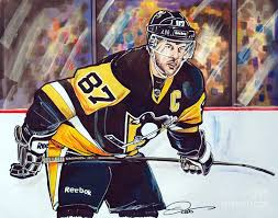 sidney crosby birthday card sidney crosby 2016 nhl stanley cup playoffs drawing by dave