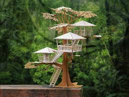 Build Your Own Home Kit by Super Deluxe Tree House Model Kit House Miniatures And Craft