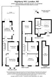 estate agent floor plans highbury hill n5 carlton estate agents
