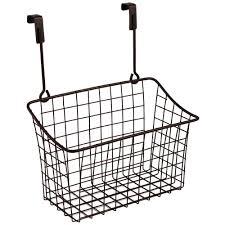 cabinet door organizers and storage baskets organize it