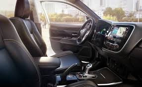 mitsubishi outlander interior model information of outlander phev mitsubishi motors