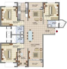 2044 sq ft 3 bhk 3t apartment for sale in prestige group lakeside