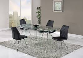 global furniture dining room sets d2160dt dining table by global w optional d6664 black chairs