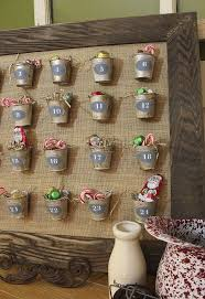 now you can have a pottery barn advent calendar for a fraction of