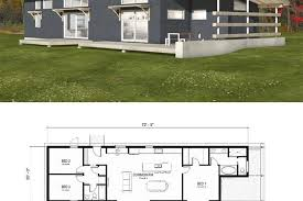How To Find Floor Plans For Existing Homes Modern Style House Plan 3 Beds 2 00 Baths 1356 Sq Ft Plan 497 57