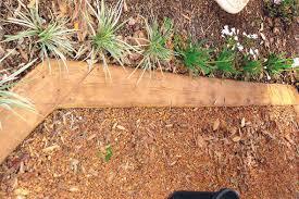 Timber Garden Edging Ideas Garden Edging Fence Garden Ideas Designs