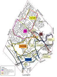 Ma Map Burlington Public Transportation Route Map