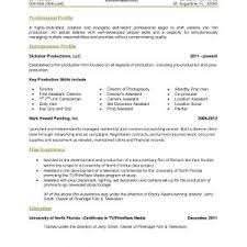 sample resume format for fresh graduates one page sample single