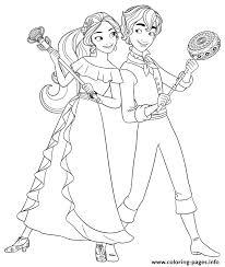 princess elena mateo disney princess coloring pages printable
