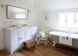 Shabby Chic Bathroom by Shabby Chic Bathroom Pastel Vanity Color And Vintage Clawfoot Tub