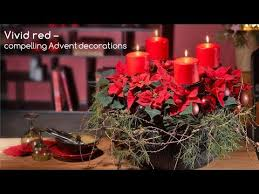 Advent Decorations Planted Advent Wreath Youtube