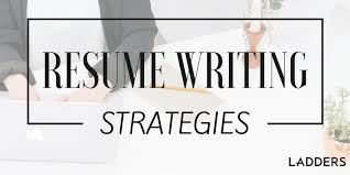 resume writing resume writing strategies from a career coach s tool kit ladders