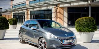 peugeot car lease scheme peugeot 208 gti review carwow