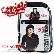 Michael Jackson Bad Album Online Shop 2015 Michael Jackson Bad Student Shoulders U0027 Bag