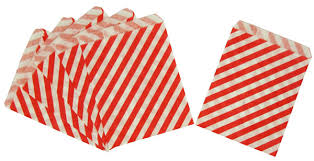 treat bags paper treat bags 24pcs medium diagonal striped