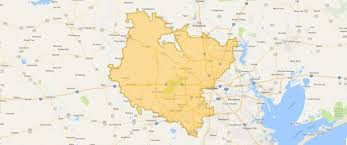 Map Of Houston Area Areas We Serve 101 Mobility Of Houston