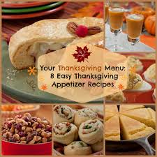 your thanksgiving menu 8 easy thanksgiving appetizer recipes
