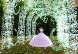 wedding arch garden second marketplace s sparkly fairy garden wedding arch