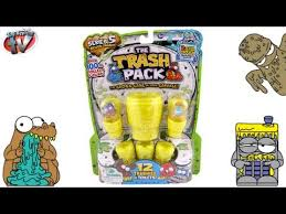 trash pack series 5 surprise toilet eggs 12 pack toy review