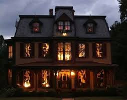 Decorated Homes Best Halloween Decorated Houses Designcorner