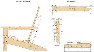 adirondack chair plans free templates the best letter sample