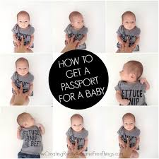 how to get a passport for baby c r a f t