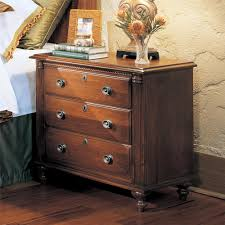 durham furniture savile row nightstand in victorian mahogany 980