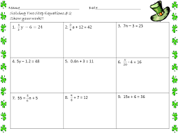 two step equations practice answers tessshebaylo