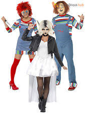 chucky costumes polyester chucky costumes for women ebay