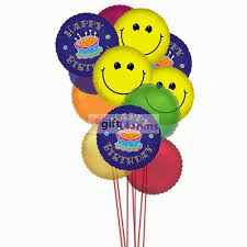 delivery of balloons for birthdays with a smile on the wish them happy birthday by sending our