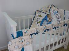 beatrix potter rabbit nursery beatrix potter rabbit cot bedding set ebay