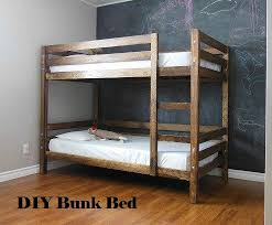 building a bunk bed how to build a bunk bed