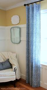 Easy Sew Curtains Diy No Sew Projects Pillows Curtains Shades And More Artsy