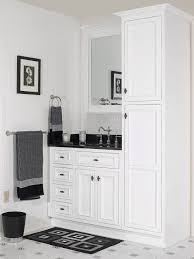 Black Bathroom Wall Cabinet by Bathroom Good Combination Of Black And White Bathroom Cabinet