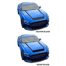 jeep hood decals mustang hood decal u shaped v6 ecoboost gt 2015 2017 cj pony parts