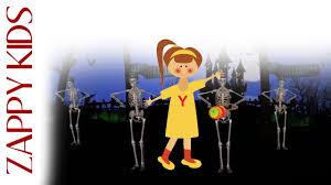 Halloween Skeleton Games by Spooky Spooky Children U0027s Halloween Skeleton Dance Song Nursery